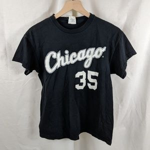 Tops - Chicago Short Sleeve Top Women Size XL